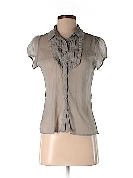 Zoe D. Short Sleeve Blouse Size S