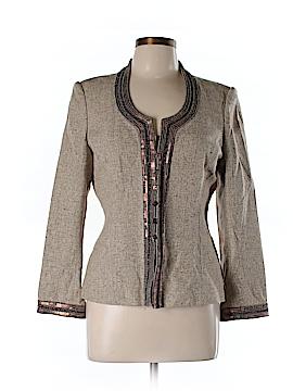 Linda Allard Ellen Tracy Silk Blazer Size 10 (Petite)