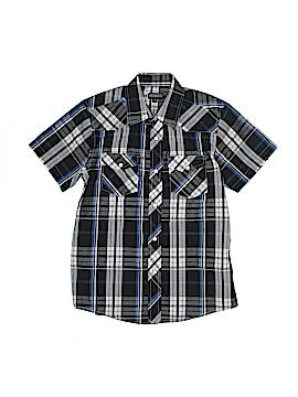 Gioberti Short Sleeve Button-Down Shirt Size 8