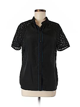BCBG Paris Short Sleeve Blouse Size M