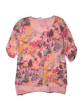 C.M.C by Color Me Cotton 3/4 Sleeve Blouse Size M