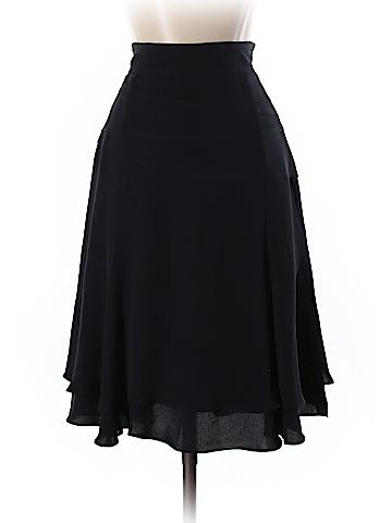 Escada by Margaretha Ley Silk Skirt Size 36 (FR)