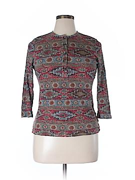 Lauren Jeans Co. 3/4 Sleeve Henley Size XL