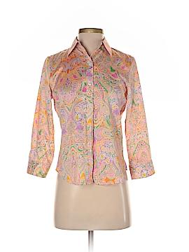 Chaps Short Sleeve Blouse Size XS