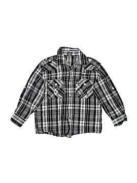 Fubu Long Sleeve Button-Down Shirt Size 6