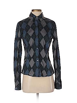 Pringle of Scotland Long Sleeve Button-Down Shirt Size 10