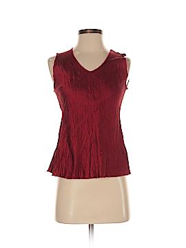 Lee Andersen Sleeveless Silk Top Size S