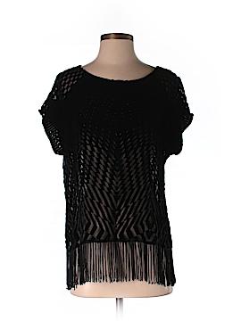 Ella Moss Short Sleeve Silk Top Size 3