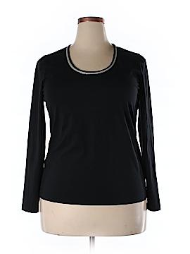 Lafayette 148 New York Long Sleeve T-Shirt Size XL