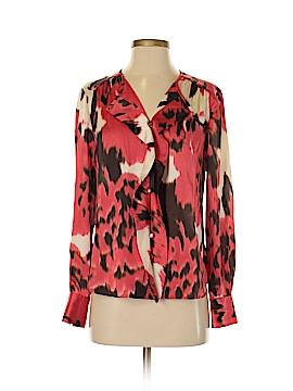 Jones New York Collection Long Sleeve Blouse Size 8 (Petite)