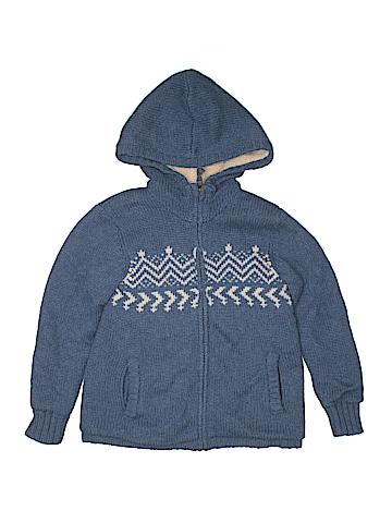Mini Boden Zip Up Hoodie Size 7 - 8
