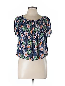 Sophie Rue Short Sleeve Blouse Size L