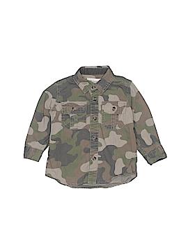 Tucker + Tate Long Sleeve Button-Down Shirt Size 12 mo