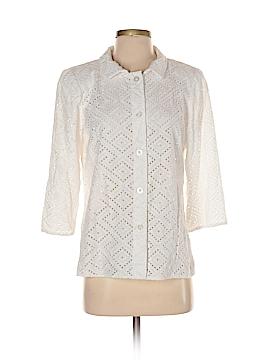 Nina Mclemore 3/4 Sleeve Blouse Size 4