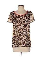 Tini Lili Women Short Sleeve Blouse Size S