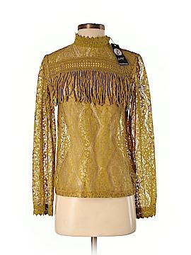 Boohoo Boutique Long Sleeve Blouse Size 8