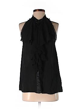 Nicole by Nicole Miller Sleeveless Silk Top Size S