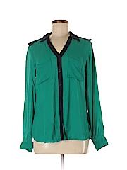 A.n.a. A New Approach Women Long Sleeve Blouse Size M