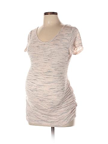Jessica Simpson Maternity Short Sleeve Top Size L (Maternity)