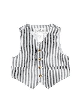 Janie and Jack Tuxedo Vest Size 6-12 mo