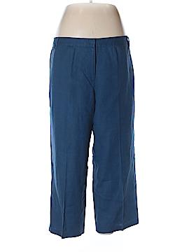 Sigrid Olsen Linen Pants Size 14