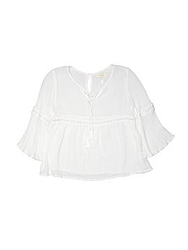 Soprano 3/4 Sleeve Blouse Size 7/8