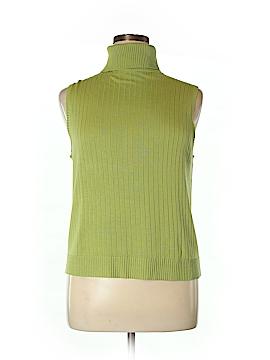 Valerie by Valerie Stevens Silk Pullover Sweater Size XL