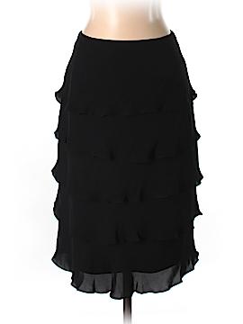 Teri Jon by Rickie Freeman Silk Skirt Size 2