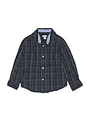 Greendog Boys Long Sleeve Button-Down Shirt Size 3/3t
