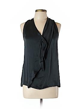 Kenar Sleeveless Silk Top Size L