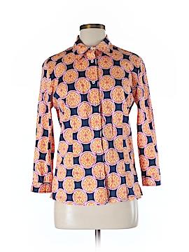 Tizzie Long Sleeve Button-Down Shirt Size M