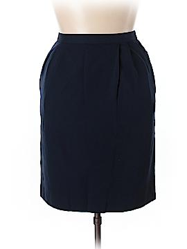 Lands' End Wool Skirt Size 14