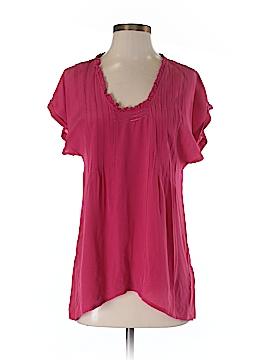 Lil Short Sleeve Silk Top Size 2