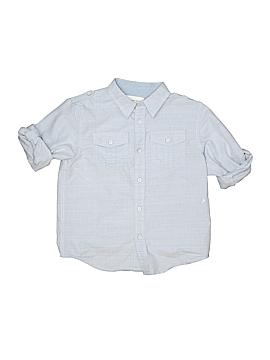 Paper Denim & Cloth Short Sleeve Button-Down Shirt Size 7