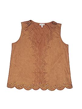 Monteau Girl Vest Size 14