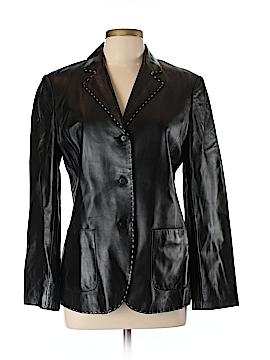 Jones New York Leather Jacket Size 10