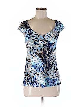 Andrea Behar Short Sleeve Top Size M