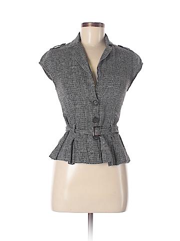 Ella Moss Short Sleeve Button-Down Shirt Size M