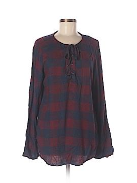 Bella Dahl Long Sleeve Blouse Size M