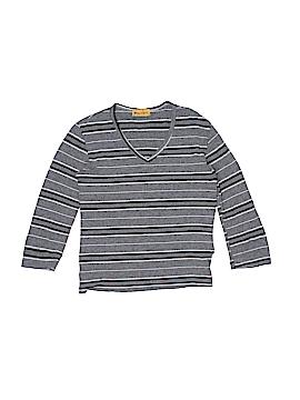 Blue Asphalt 3/4 Sleeve T-Shirt Size M