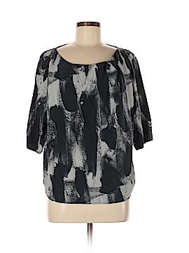 Acne 3/4 Sleeve Silk Top Size 40 (EU)