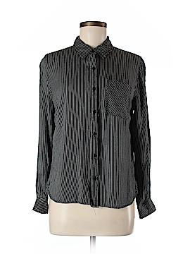 Como Black Long Sleeve Blouse Size M