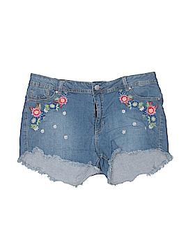 Rue21 Denim Shorts Size 15 - 16