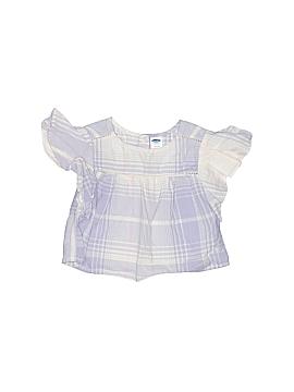 Old Navy Short Sleeve Blouse Size 3-6 mo