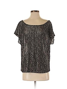 Leona by Lauren Leonard Short Sleeve Silk Top Size S