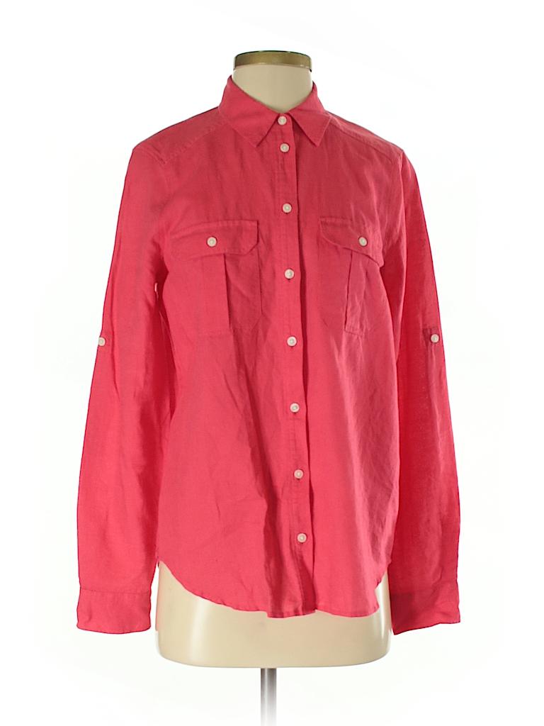a6d3716ed9bdb4 Express Pink Long Sleeve Button-Down Shirt Size S - 95% off | thredUP