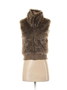 Arizona Jean Company Faux Fur Vest Size S