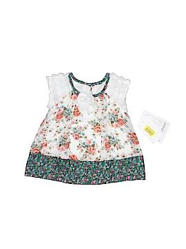 Bonnie Baby Short Sleeve Blouse Size 3-6 mo