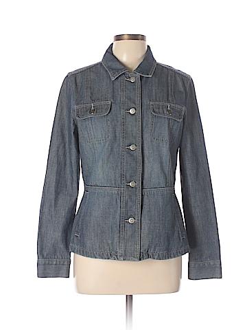 Halogen Denim Jacket Size L
