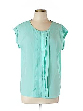 Jaclyn Smith Short Sleeve Blouse Size L